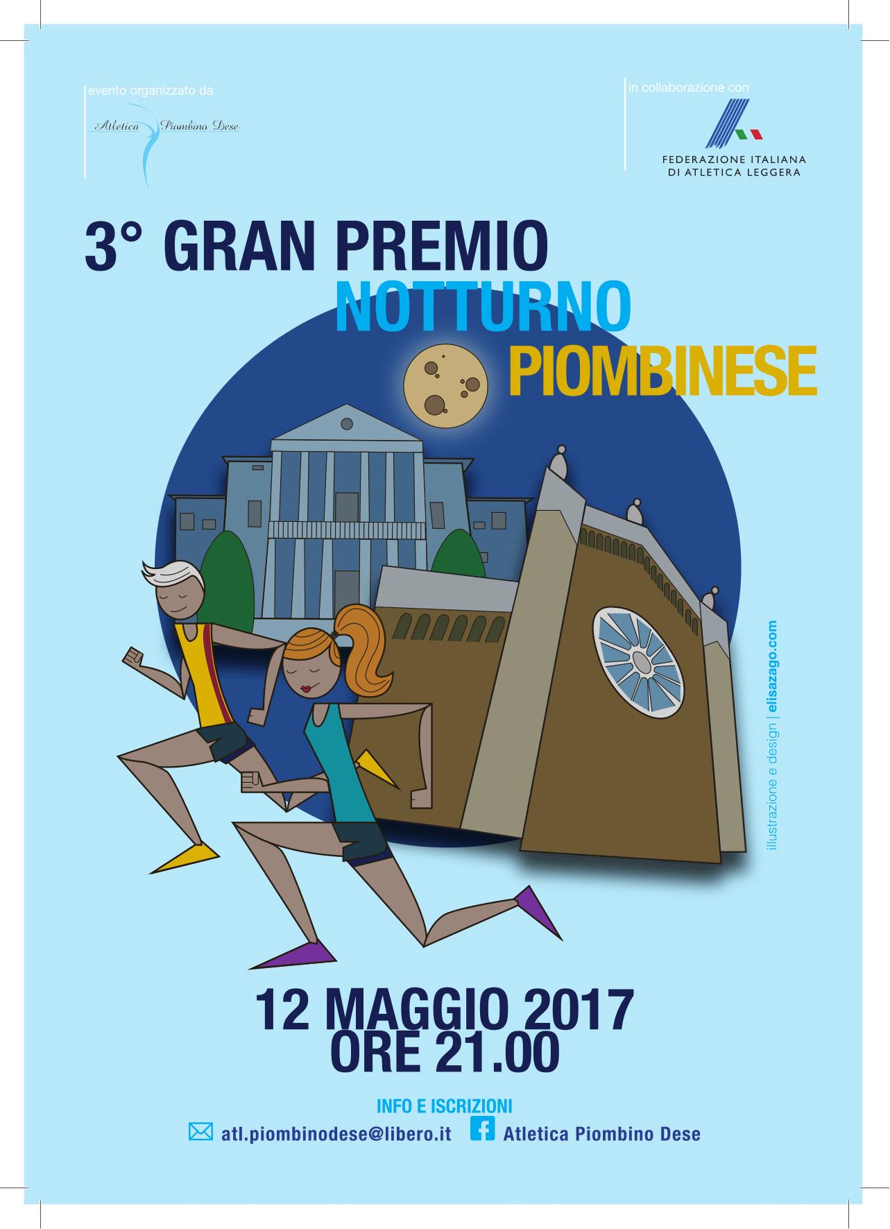 III° GRAN PREMIO NOTTURNO PIOMBINESE - Bimbi in Fiore