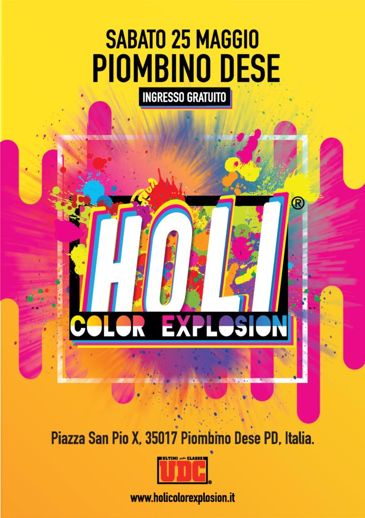 holi color explosion 2019 piombino dese - bimbi in fiore